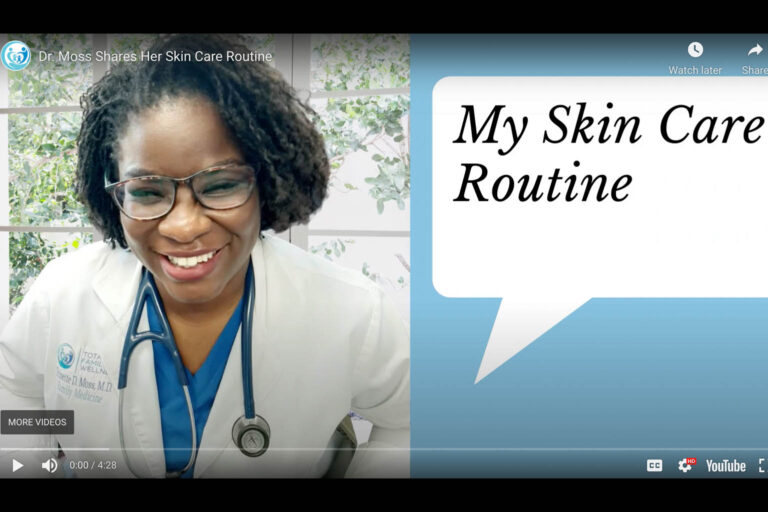 Dr. Moss Shares Her Skin Care Routine